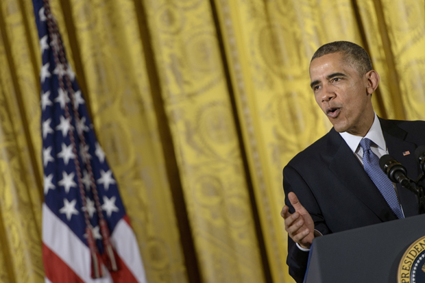 President Barack Obama speaks Nov. 19 at the ConnectED conference in the East Room of the White House. Obama is expected to announce executive action on immigration reform Nov. 20.