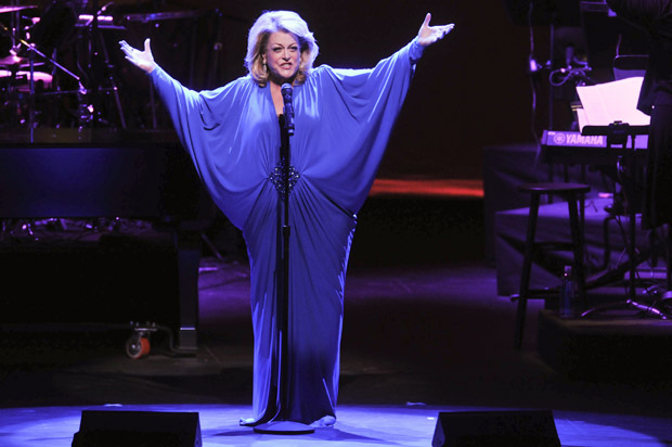 Deborah Voigt performs on stage at the opening night of Dr. Phillips Center for the Performing Arts; Broadway & Beyond on November 15, 2014 in Orlando, Florida.