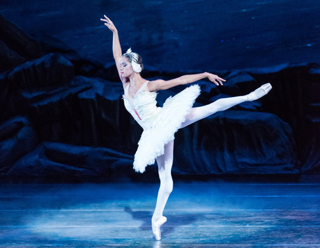 Misty Copeland performs in Swan Lake.