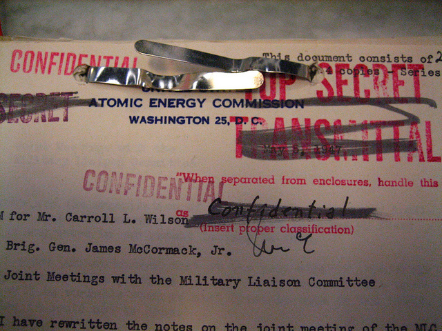 An AEC document from the late 1940s.