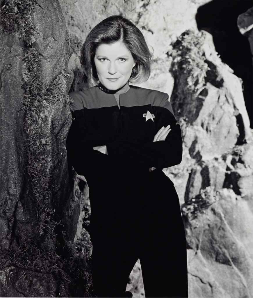 "Kate Mulgrew in ""Star Trek."""