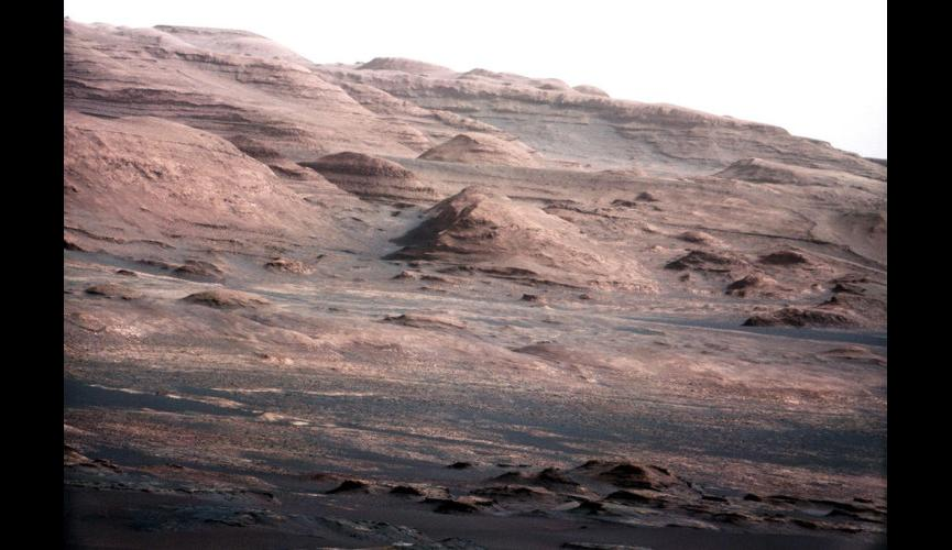 18. Layers at the Base of Mount Sharp   copy