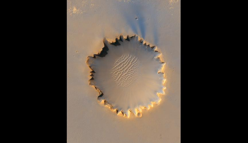 9.'Victoria Crater' at Meridiani Planum