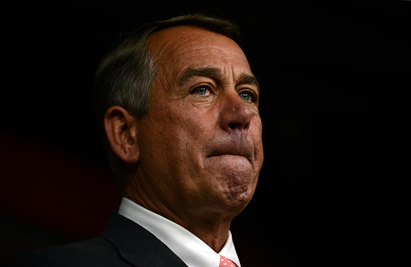 House Speaker John Boehner announces his resignation during a press conference Sept. 25 on Capitol Hill in Washington, D.C.
