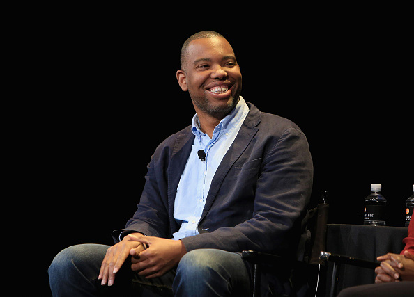 Writer Ta-Nehisi Coates speaks Oct. 4 at the New Yorker Festival  in New York City.