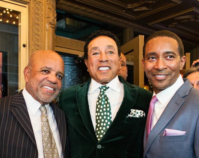 Gordy (left), Robinson and Randolph-Wright.