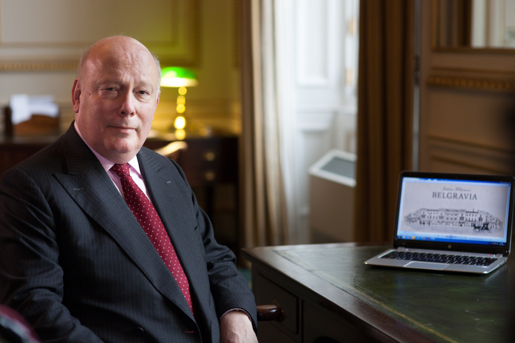 "Julian Fellowes, creator of ""Downton Abbey,"" has released a new novel."
