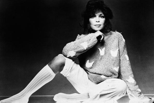 Promotional studio portrait of American pop songwriter Carole Bayer Sager, 1980s.