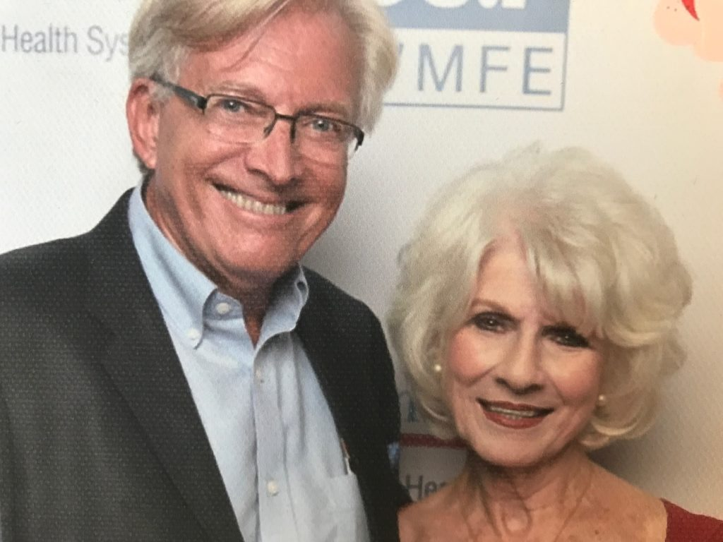 Diane Rehm and John Hagedorn reconnected in 2016 at her book tour event sponsored by Orlando's public radio station, WMFE. Their wedding is scheduled for Saturday, October 14.