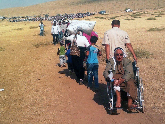 According to the United Nations, over half of the Syrian population has now been displaced and are in need of humanitarian assistance.