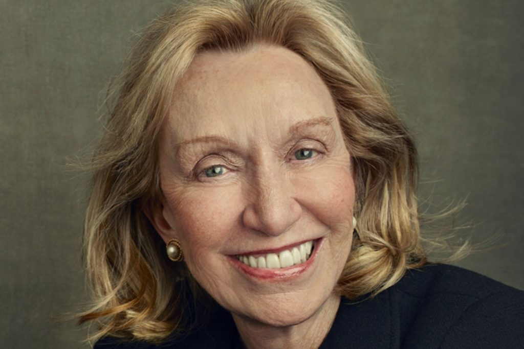 "Doris Kearns Goodwin's new book is titled ""Leadership in Turbulent Times."""