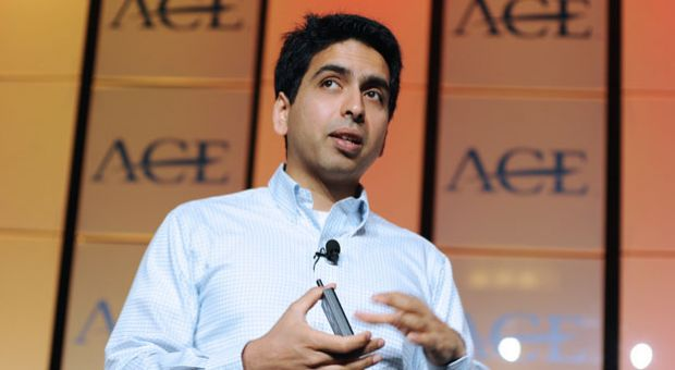 Salman Khan, founder of Khan Academy.