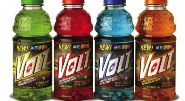 Volt Energized Sports Drink.