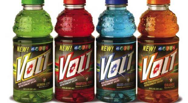 Volt Energized Sports Drink.