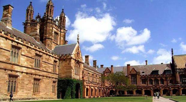 Main Quadrangle of the University of Sydney.