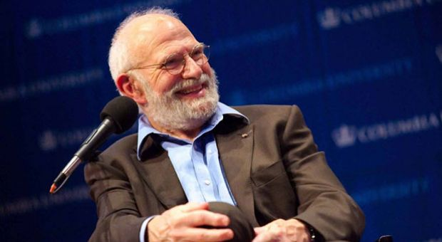 Dr. Oliver Sacks at Columbia University in 2008.