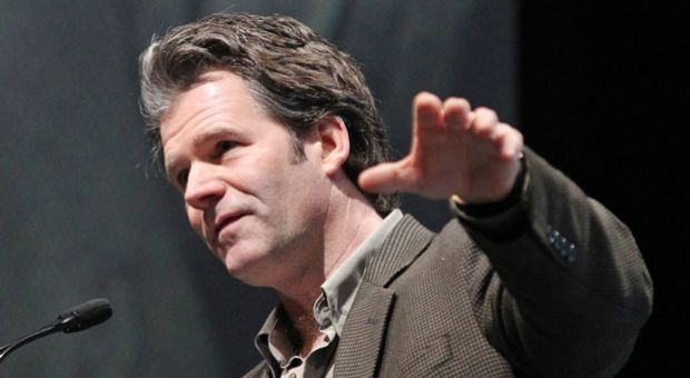 Novelist and writer of short stories Andre Dubus III delivers his Sunrise Speaker Series presentation.