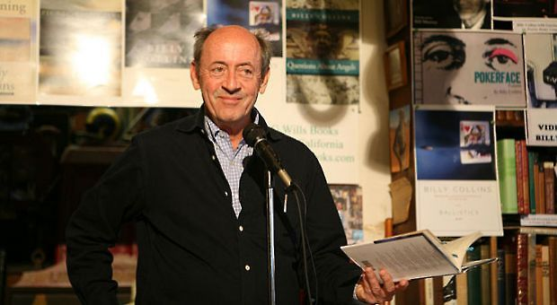 Billy Collins at D.G. Wills Books, San Diego, on Oct. 20, 2008.