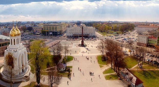Panorama of Kaliningrad, Russia.