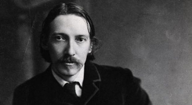 "Scottish novelist, poet and traveller Robert Louis Stevenson (1850-1894). He was born in Edinburgh, and after considering professions in law and engineering, he pursued his interest in writing. A prolific literary career ensued, which flourished until his death in Samoa in 1894. Among his most famous works are ""Kidnapped,"" ""Treasure Island"" and ""The Strange Case of Dr Jekyll and Mr Hyde."""
