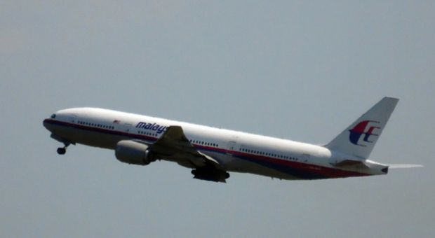 This photo shows Malaysia Airlines flight MH17 leaving Schiphol Airport in Schiphol, the Netherlands, on July 17, 2014. Malaysia Airlines said on July 17 that it had 'lost contact' with one of its passenger planes whose last known position was over eastern Ukraine, amid speculation it had been shot down.