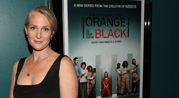 "Kerman at a special screening of ""Orange Is The New Black"" in Santa Monica, California, on June 17, 2013."