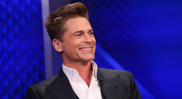 Rob Lowe visits Fox News' 'The O'Reilly Factor' at Fox News Studios on April 9, 2014 in New York City.
