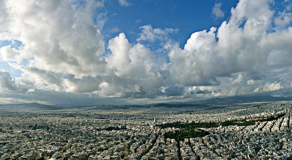 Above Athens
