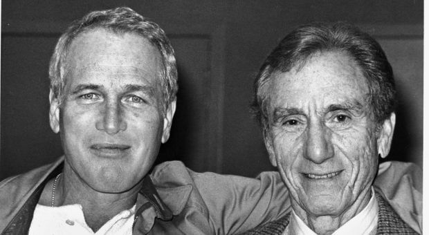 Actor Paul Newman and writer A.E. Hotchner