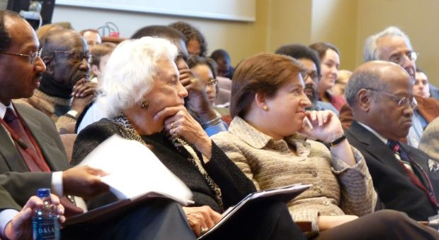 Sandra Day O'Connor and Elena Kagan at a Harvard event in October 2008.