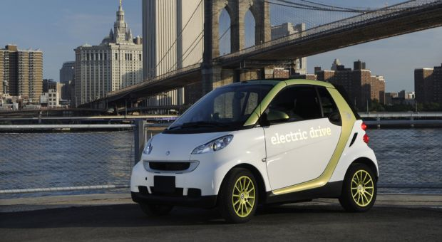 The smart fortwo electric drive made its debut in the United States in June 2010.