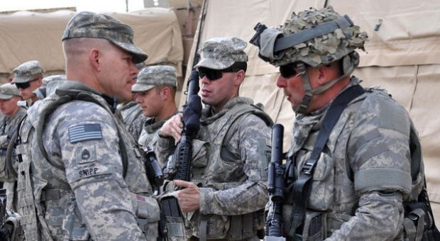 Army National Guard soldiers from Vermont, 186th Brigade Support Battalion, Task Force Avalanche, prepare for a convoy operation with a pre-combat inspection before departure to Combat Outpost Zormat from Forward Operating Base Lightning near Gardez district of Paktya province, Afghanistan, 2010