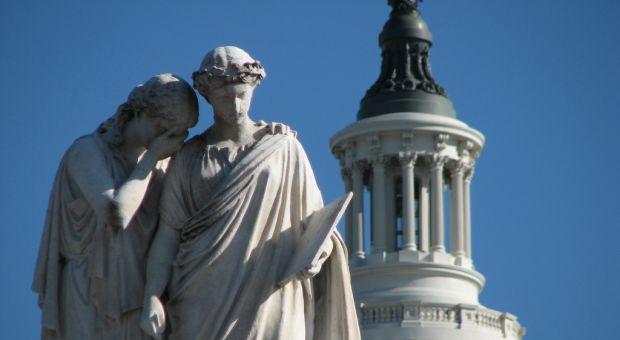 Peace monument, U.S. Capitol Building