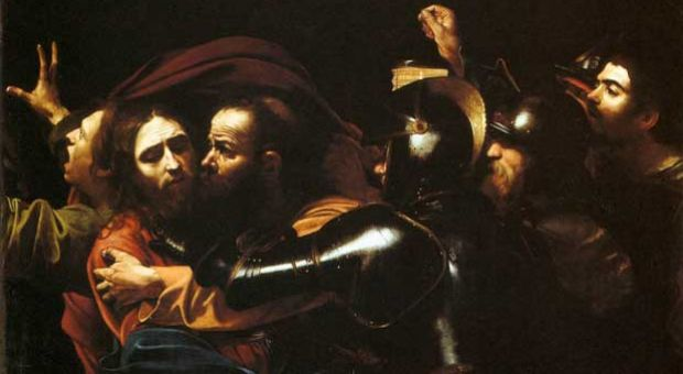 "Caravaggio's ""The Taking of Christ"""