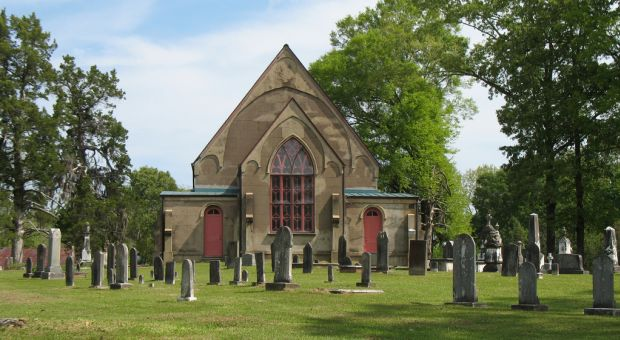 Church Hill Cemetery, Christ Episcopal Church, Church Hill (Jefferson County), Mississippi