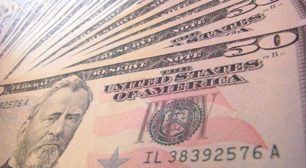 Fifty-dollar bills