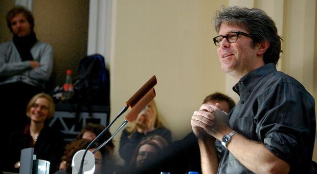 Author Jonathan Franzen, December 2009
