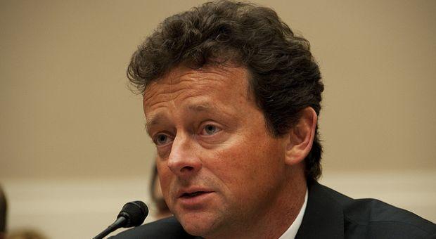 BP CEO Tony Hayward testifying in front of Congress, June 2010