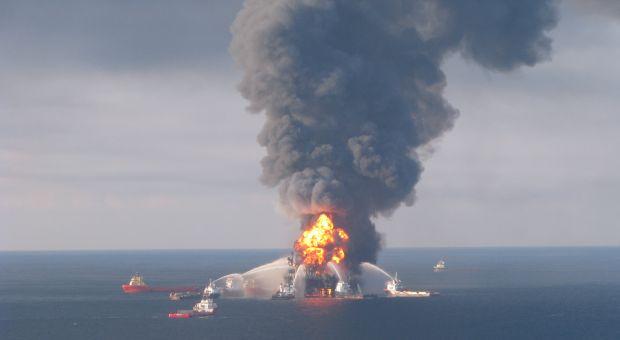 The Deep Water Horizon explosion, April 22