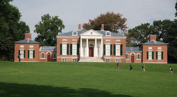 The Johns Hopkins University campus, Baltimore, Maryland