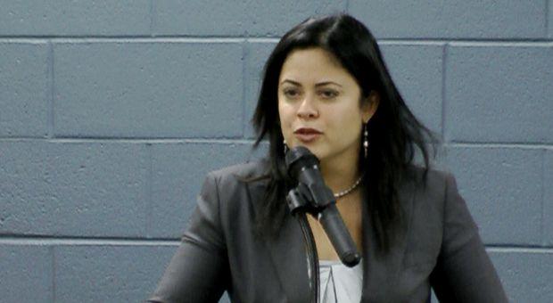Maya Soetoro-Ng in Dillon, South Carolina