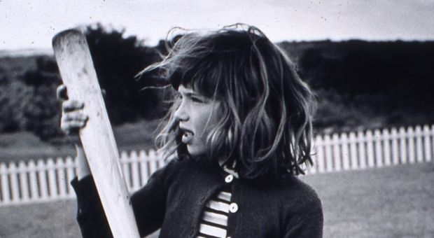 Carly Simon as a young girl.