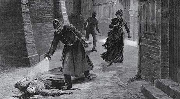 Magazine illustration of the discovery of one of Jack the Ripper's victims. Illustration: Museum in Docklands