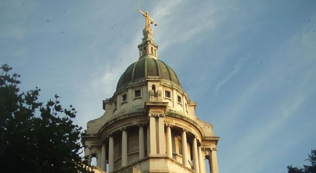 The Old Bailey Courthouse, London