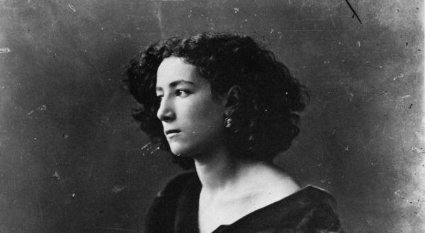 Sarah Bernhardt in 1866