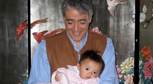 Scott Simon and daughter
