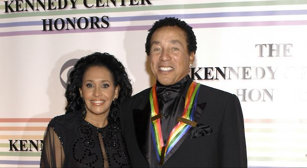 Frances and Smokey Robinson at the Kennedy Center Honors Ceremony, December 2006