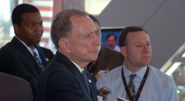 Sen. Arlen Specter (D-PA) was facing a tough bid for re-election
