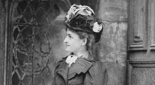 Daisy in London, c. 1890