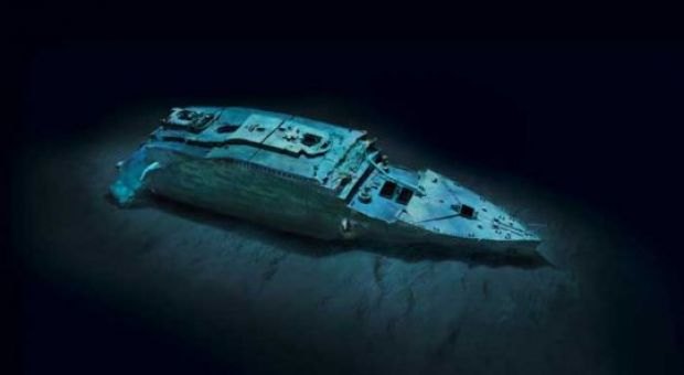 3 D Image Of The Titanic